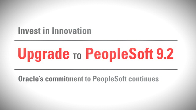 Oracle_PeopleSoft9.2_Upgrade